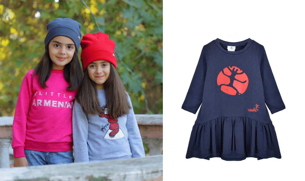 made in Armenia products, kids clothing
